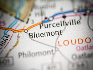 Bluemont Map