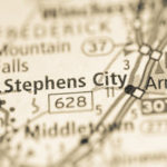 Stephens City map