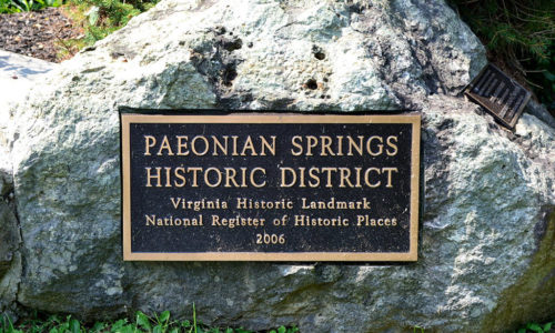 Paeonian Spring Historic District