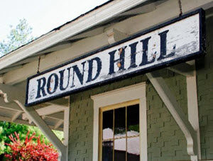 Round Hill Sign