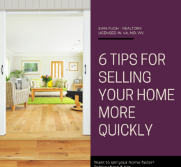 6 Tips to Help You Sell Your Home Faster